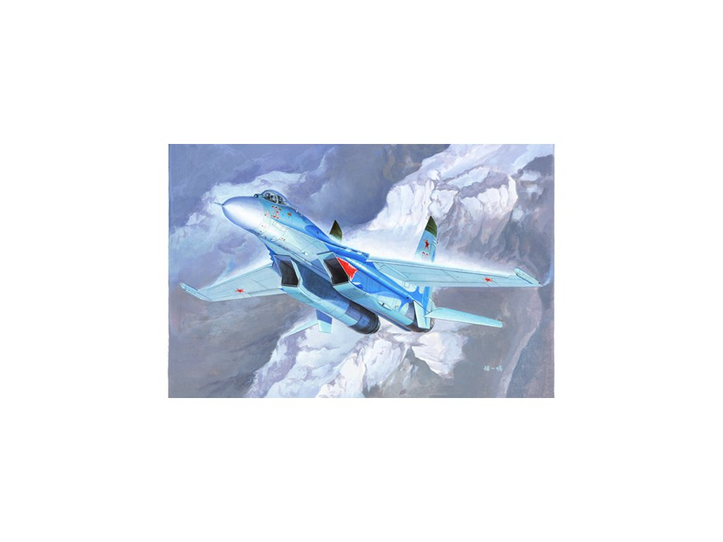 Russian Su 27 Flanker B Fighter 01660