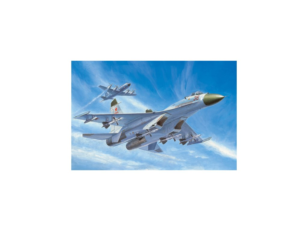 Russian Su 27 Early type Fighter 01661