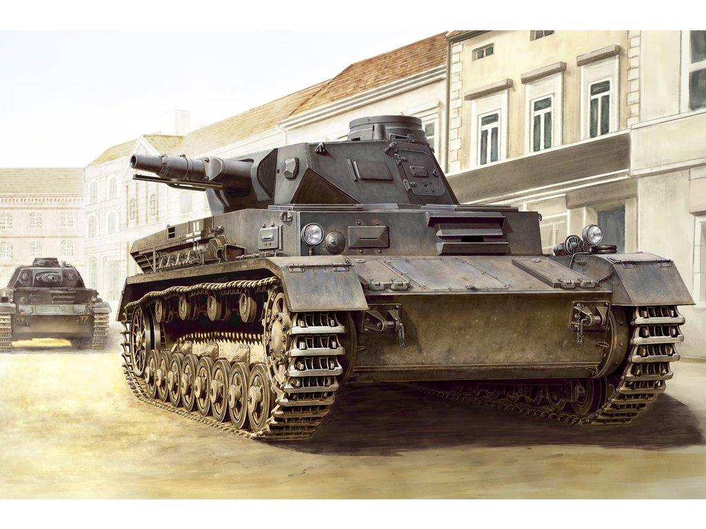 HBB80130 German Panzerkampfwagen IV Ausf C 1 35