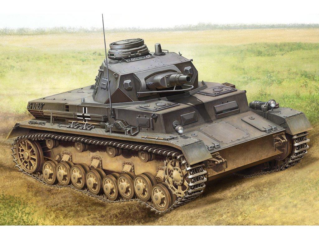 HBB80131 German Panzerkampfwagen IV Ausf B 1 35