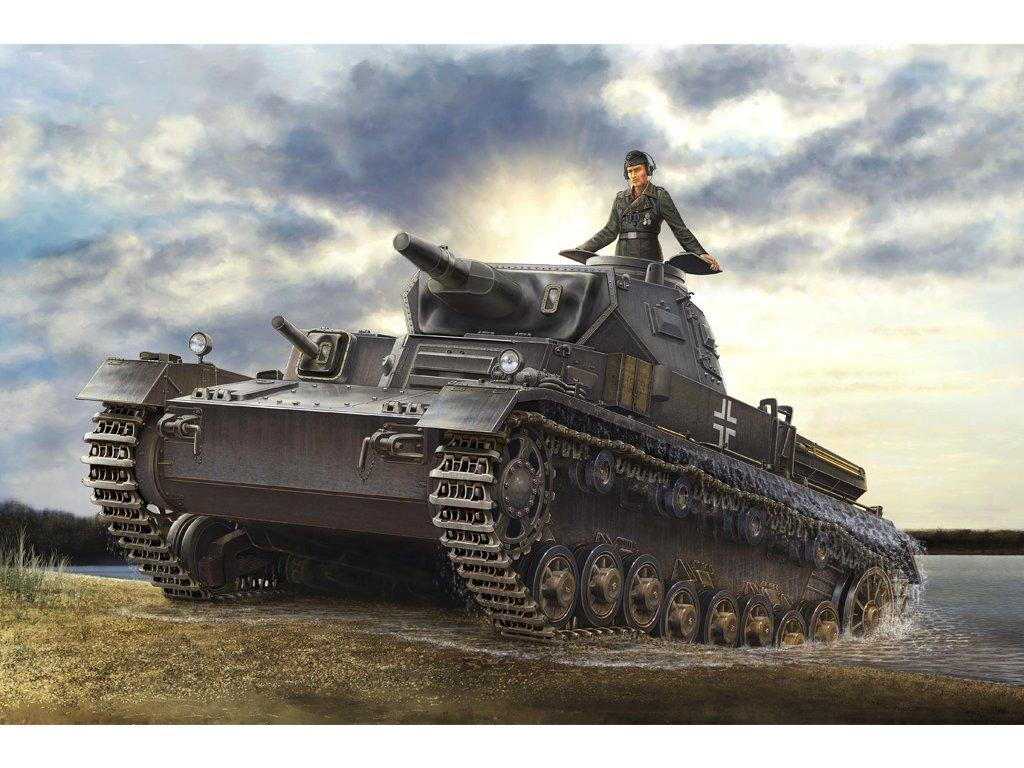 HBB80132 German Panzerkampfwagen IV Ausf D Tauch 1 35