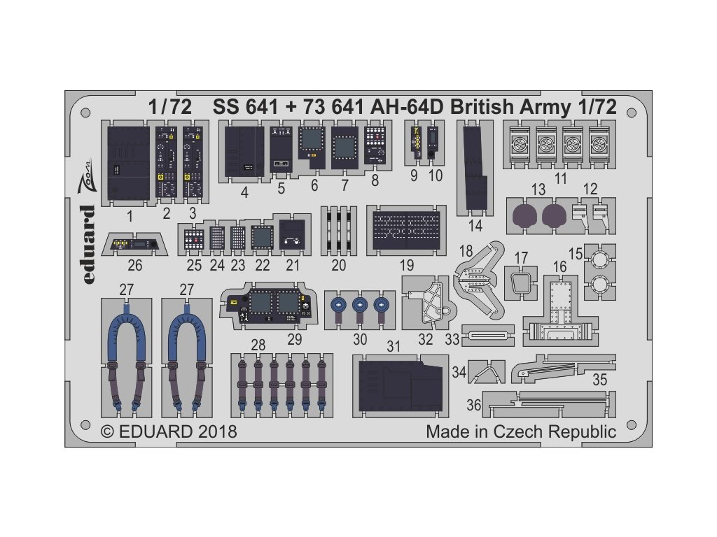 73641 AH 64D British Army 1 72 Academy2