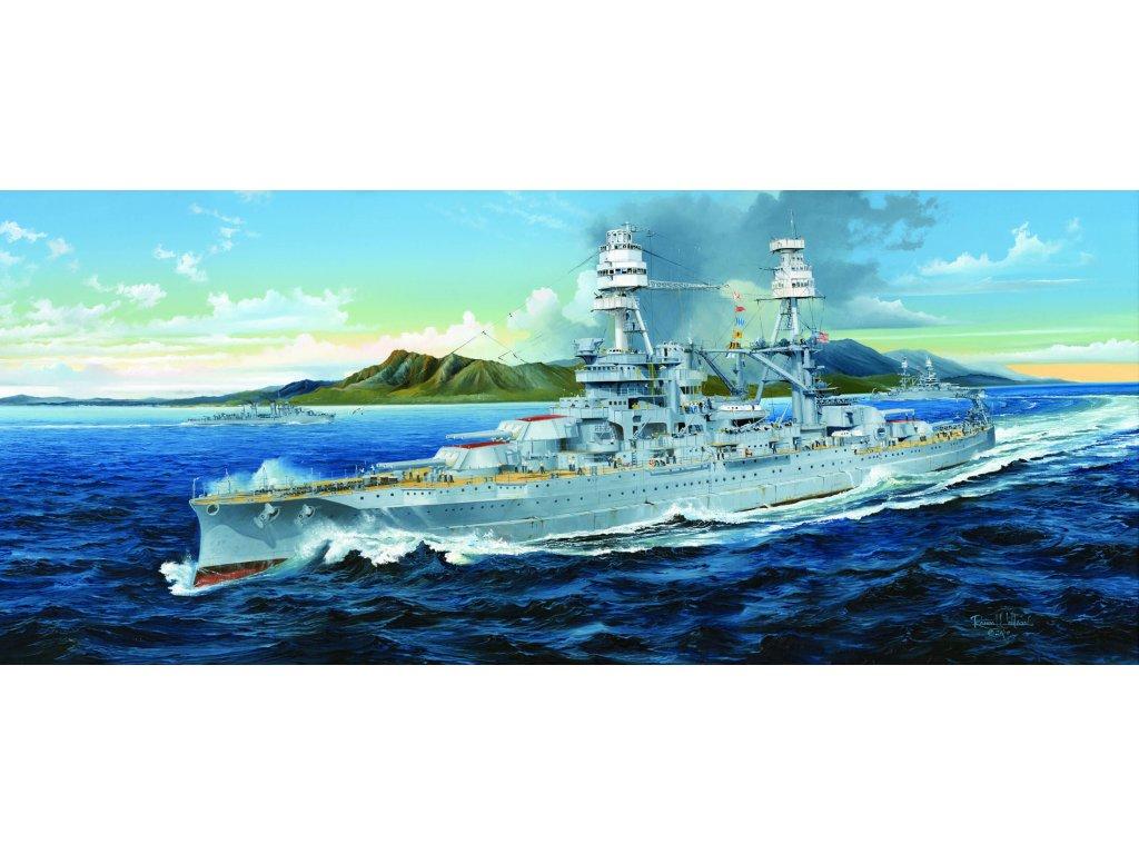 03701 USS Arizona BB 39 1941