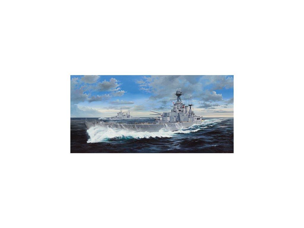 03710 HMS Hood Battle Cruiser