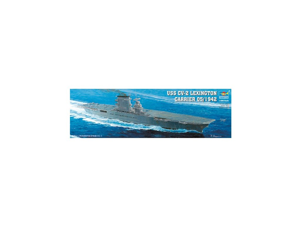 05608 USS CV 2 Lexington carrier may 1942