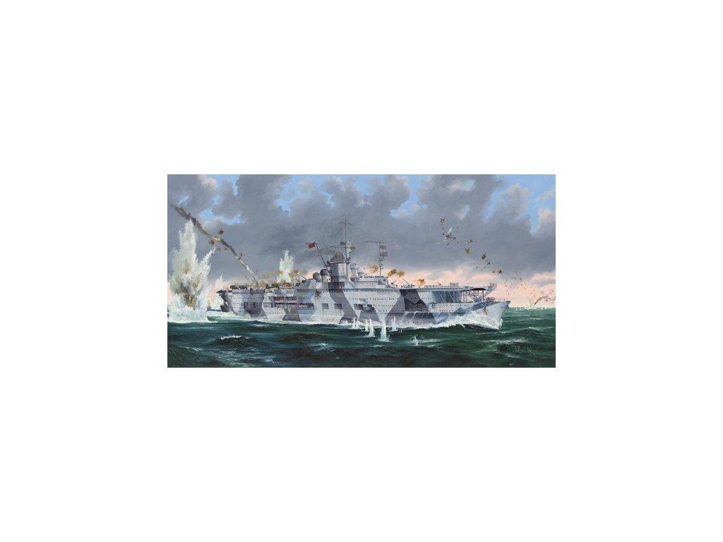 05627 German Navy Aircraft Carrier DKM Graf Zeppelin