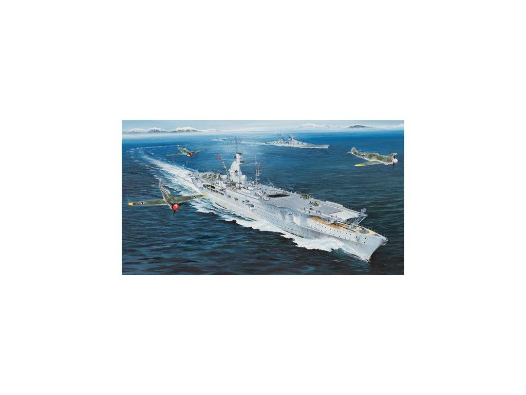 05628 German Navy Aircraft Carrier DKM Peter Strasser