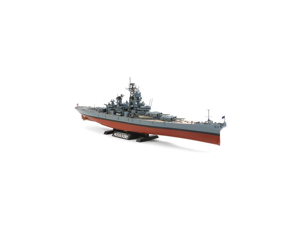 78029 U.S. Battleship BB 63 Missouri (okolo 1991)