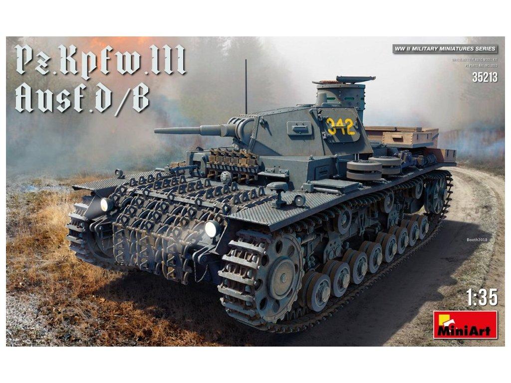 35213 Pz.Kpfw.III ausf.D B Miniart