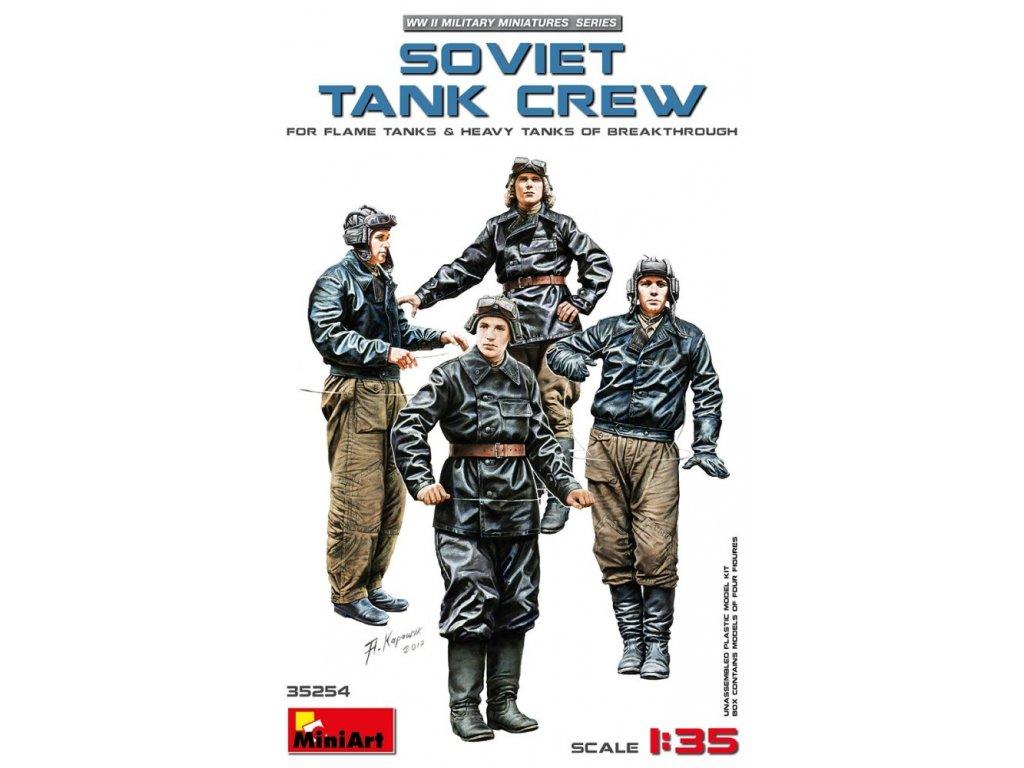 35254 soviet tank crew miniart