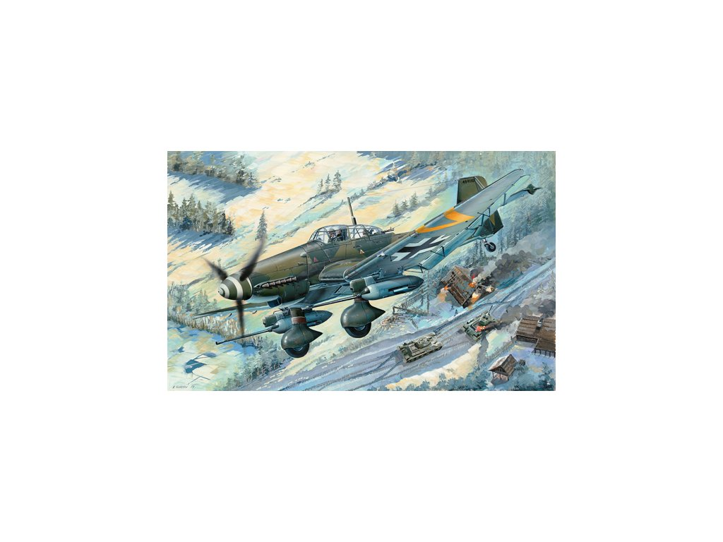 03218 Junkers Ju 87G 2 Stuka