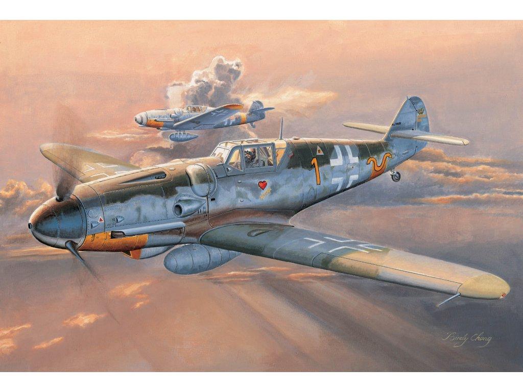 02296 Messerschmitt Bf 109G 6(Early)