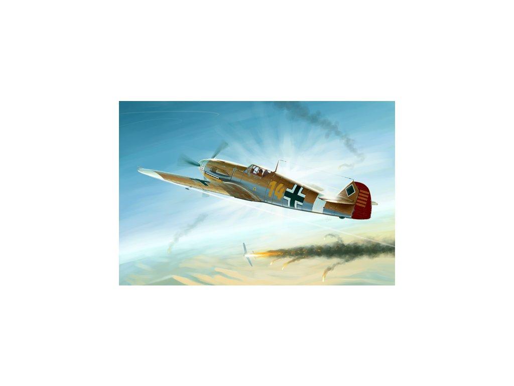 02293 Messerschmitt Bf 109F 4Trop