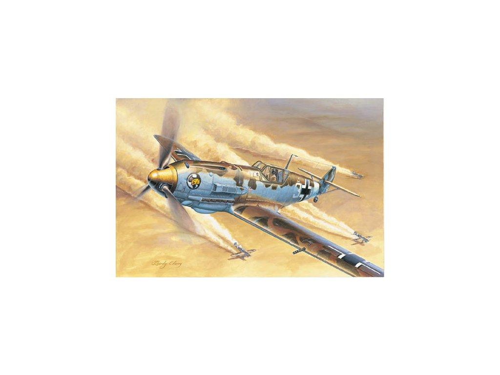 02290 Messerschmitt Bf 109E 4Trop