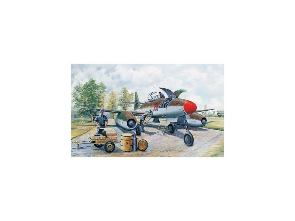 02261 Messerchmitt Me 262 A 1a clear edition