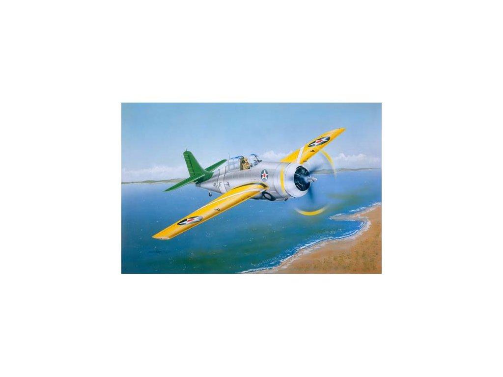 "02255 Grumman F4F 3 ""Wildcat""(EARLY)"