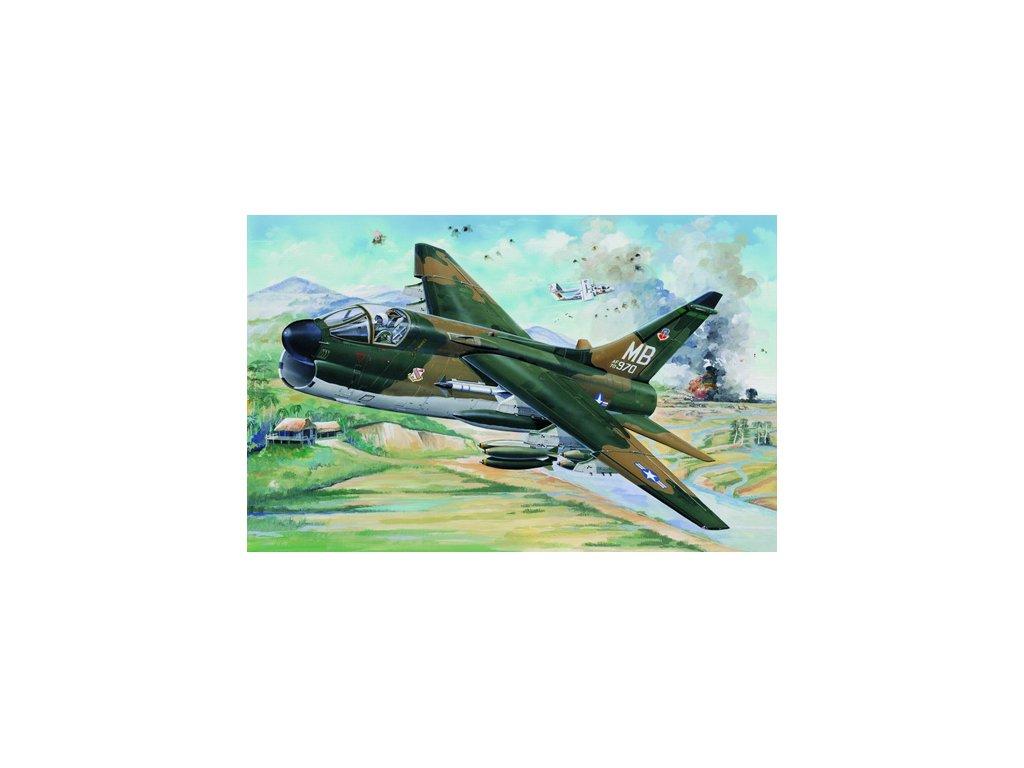 02245 USAF A 7D Corsair II