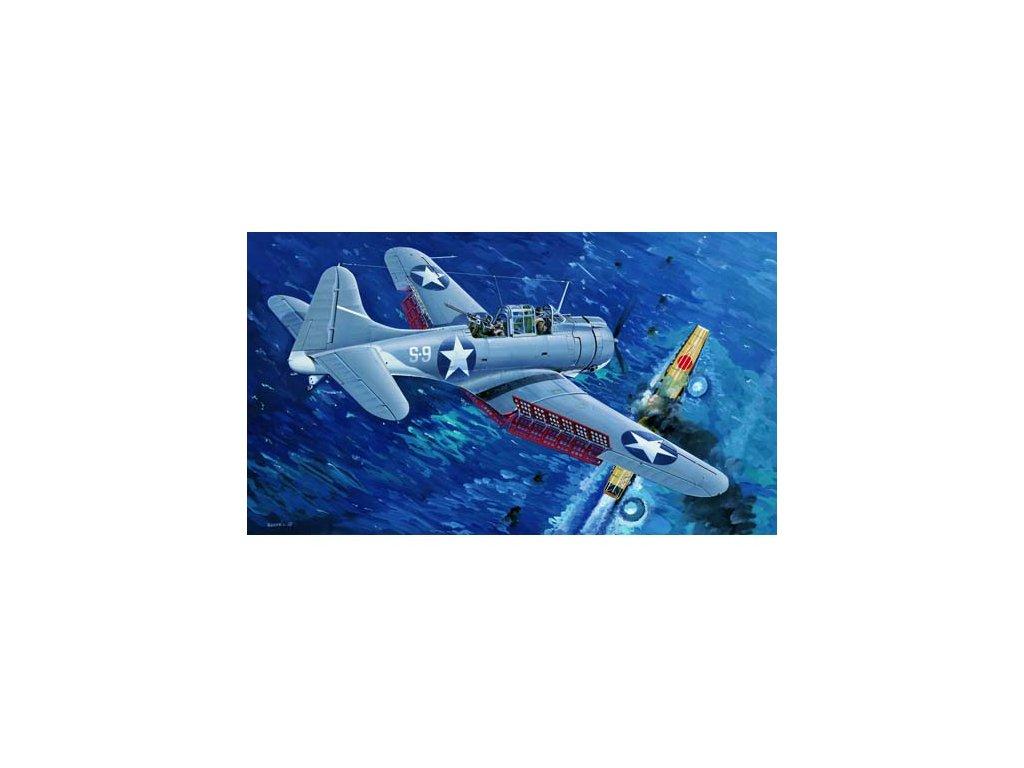 02244 U.S.NAVY SBD 3 Dauntless (Midway)