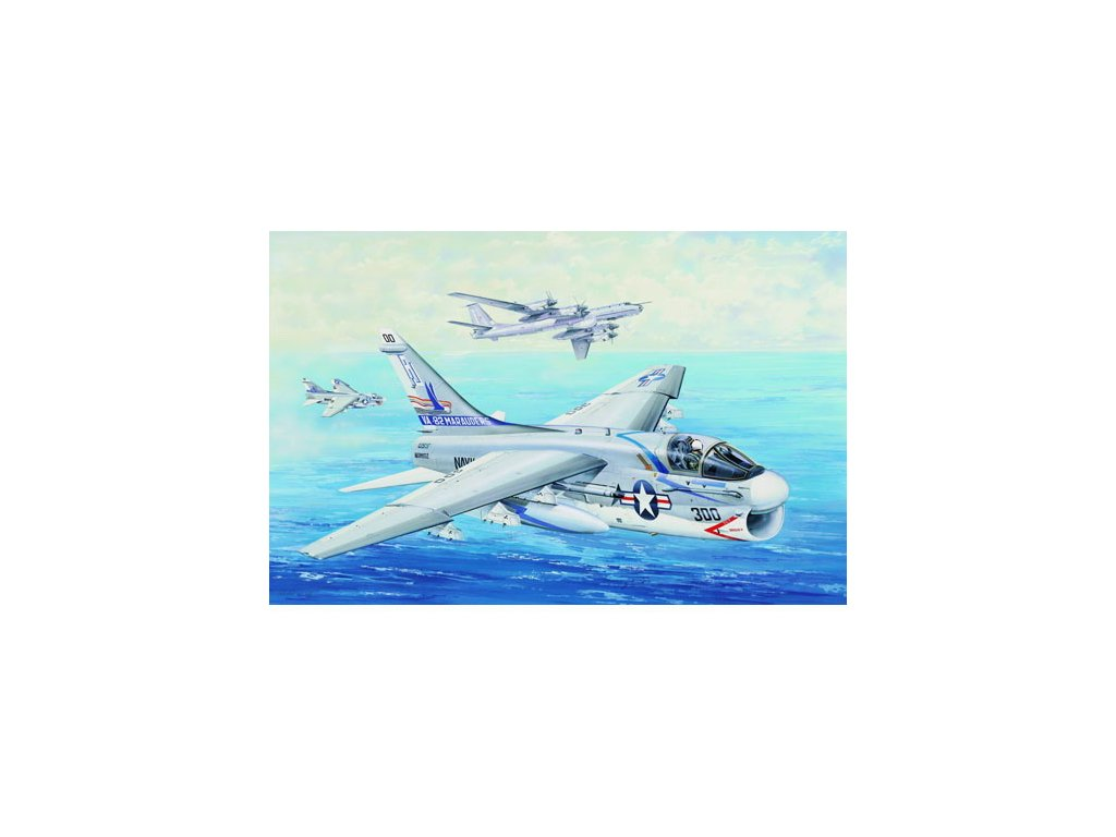 02231 USS A 7E Corsair II