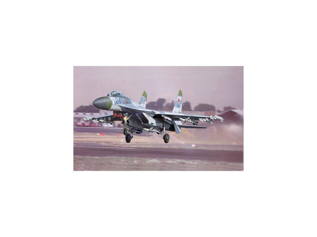 02224 Sukhoi Su 27 Flanker B