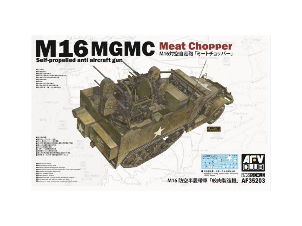 AF35203 M16 MGMC Meat Chopper Self propelled anti aircraft gun