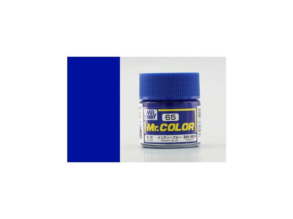 GNZC065 Bright Blue Jasně modrá