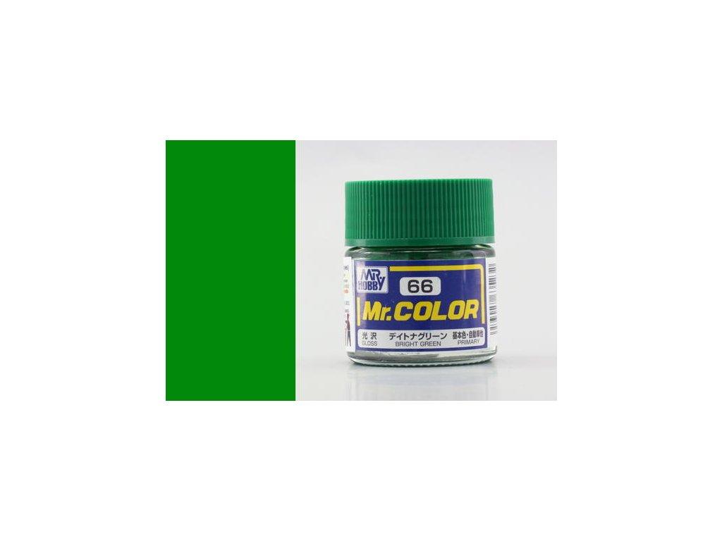 GNZC066 Bright Green Jasně zelená