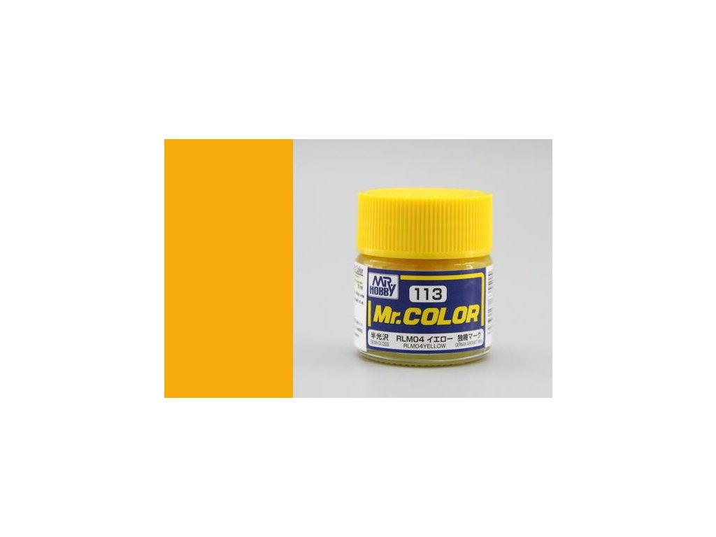 GNZC113 RLM04 Yellow Žlutá