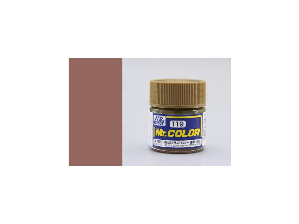 GNZC119 RLM79 Sand Yellow Písková
