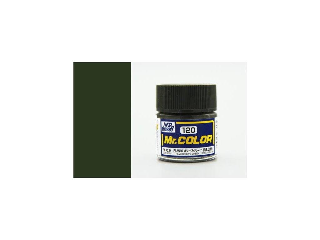 GNZC120 RLM80 Olive Green Olivově zelená