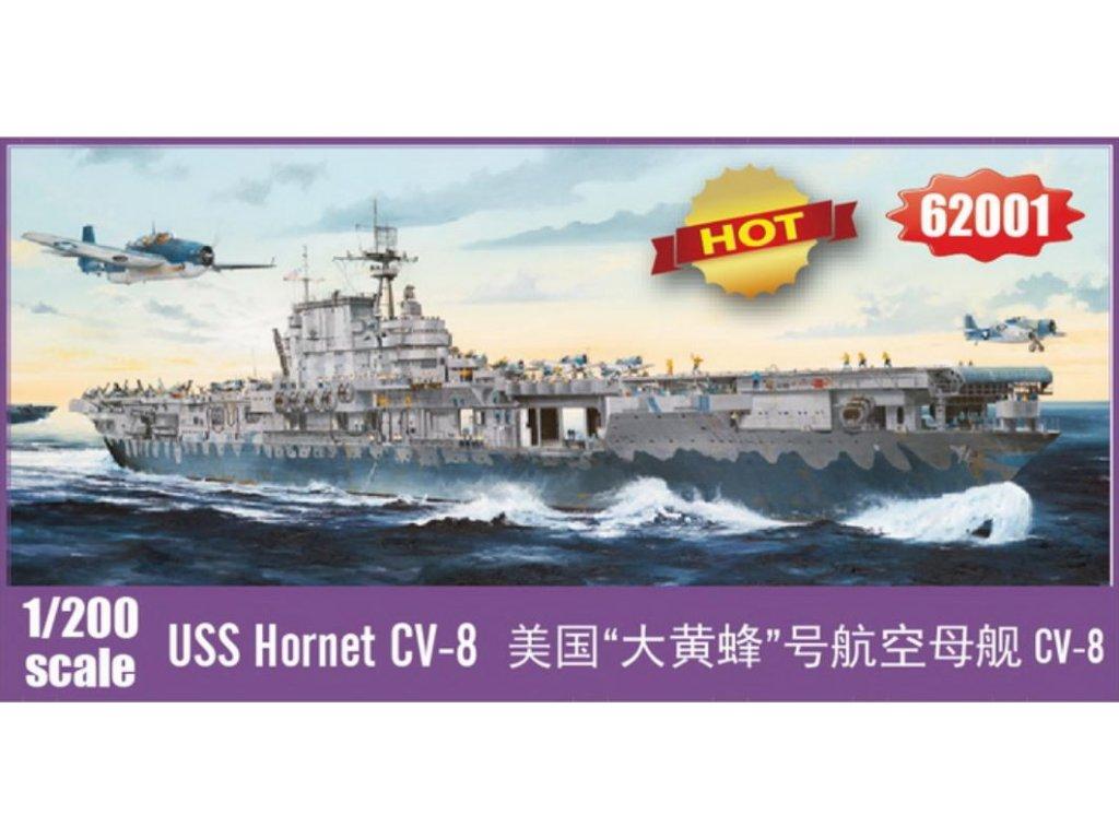 62001 USS Hornet CV 8 1 200
