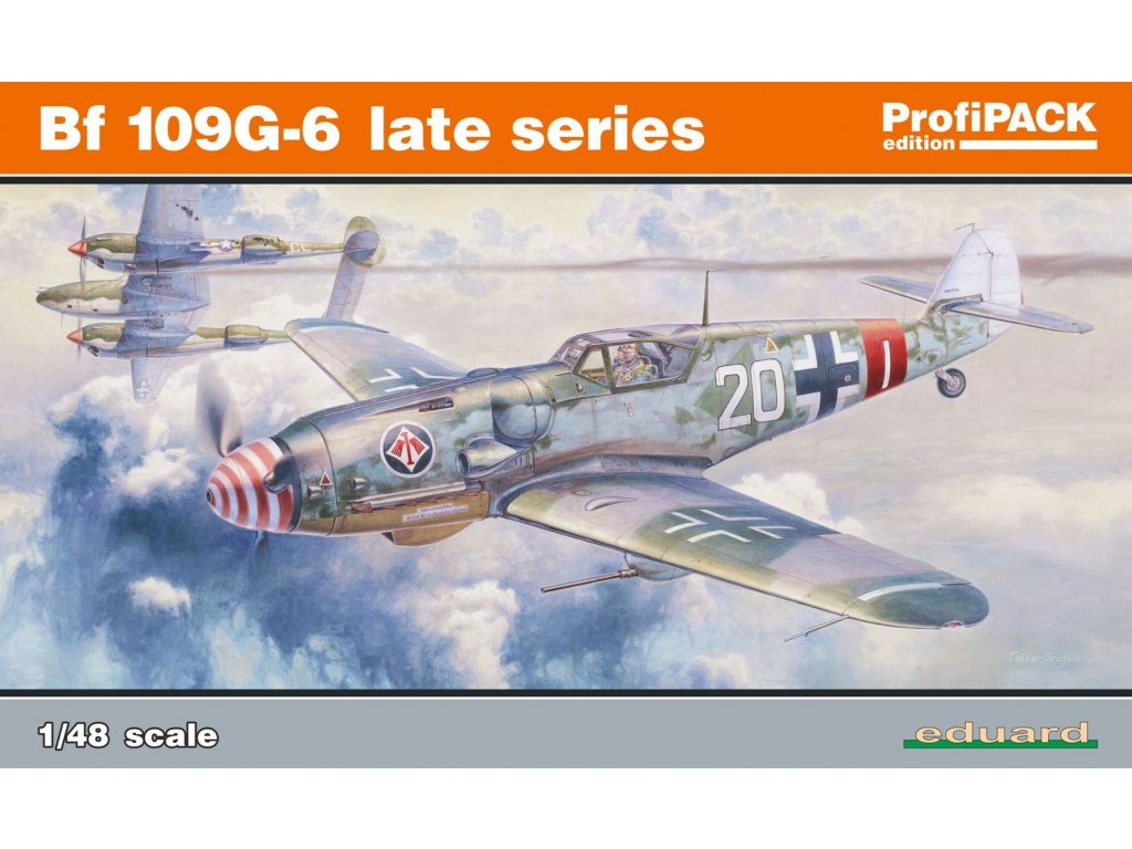 1/48 Bf 109G-6 late series