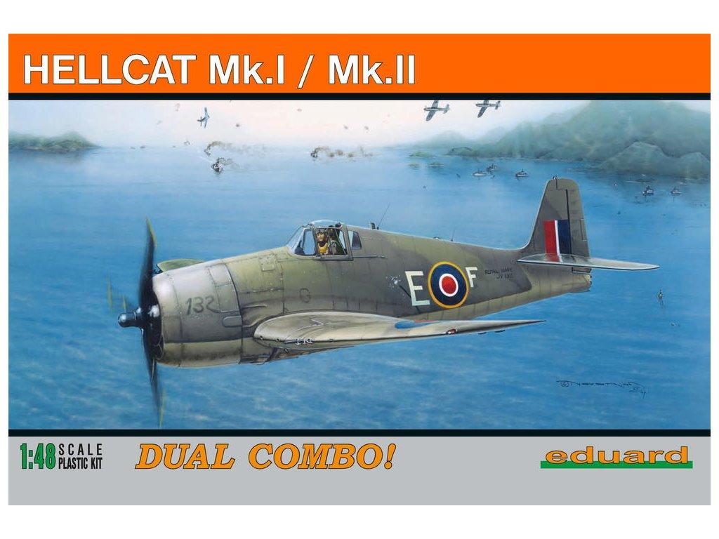 1/48 HELLCAT Mk.I/Mk.II  DUAL COMBO