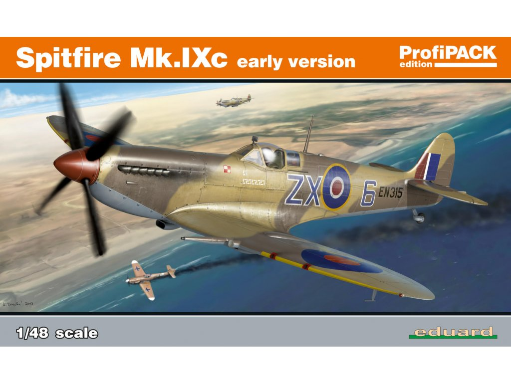 1/48 Spitfire Mk.IXc early version (Reedition)