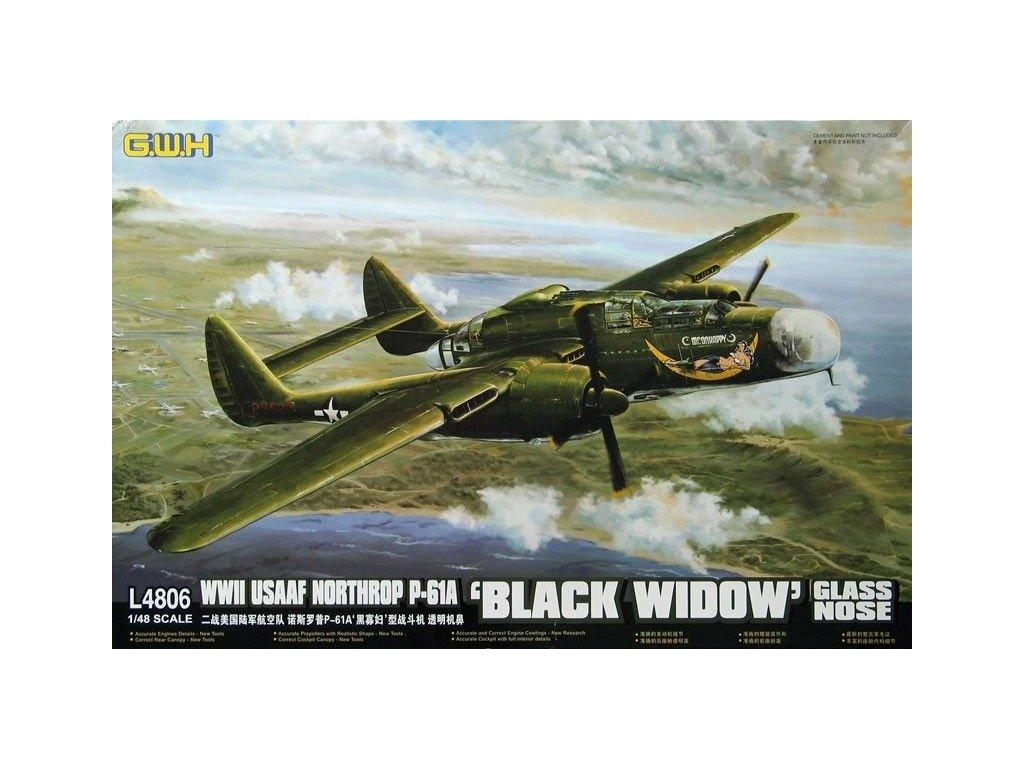 P 61A Black Widow Glass Nose L4806