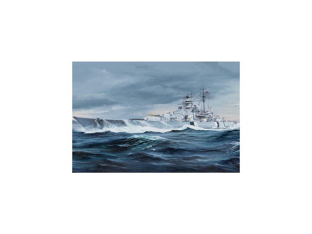 German Bismarck Battleship 05358