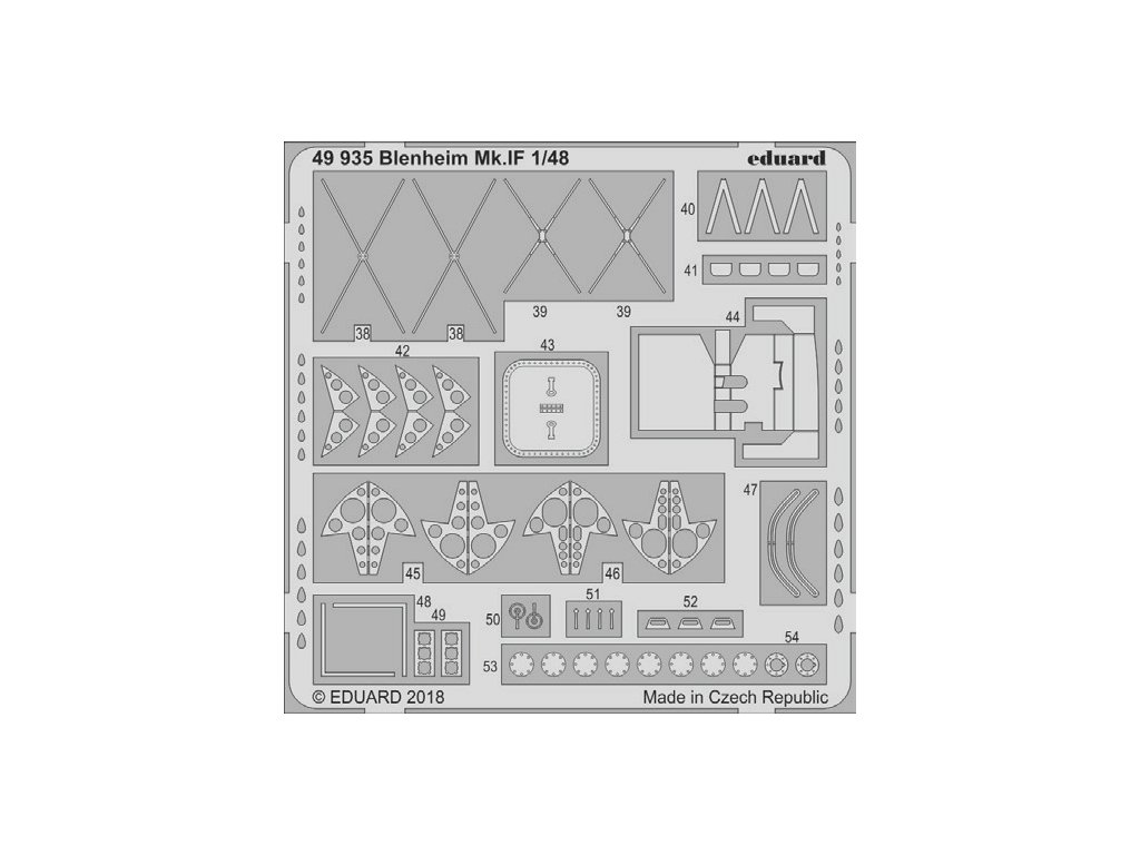 49935 Blenheim Mk.IF 1 48 Airfix