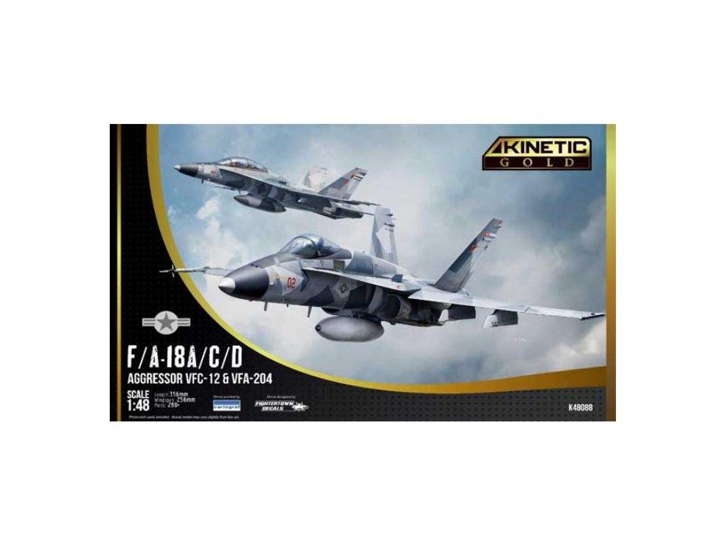 K48088 F A 18A C D Aggressor VFC 12 & VFA 204