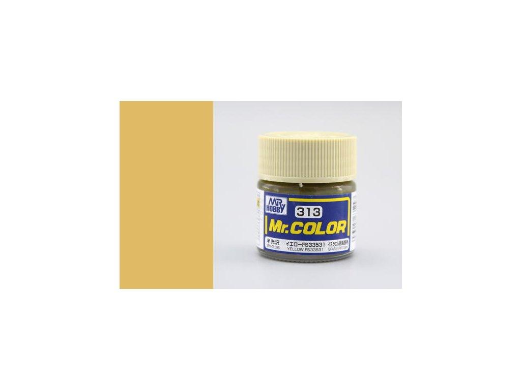 GNZC313 FS33531 Yellow Žlutá