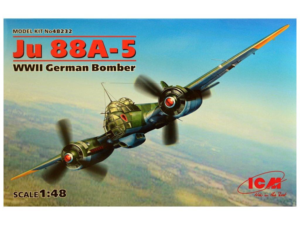 1/48 Junkers Ju 88A-5 German WWII Bomber