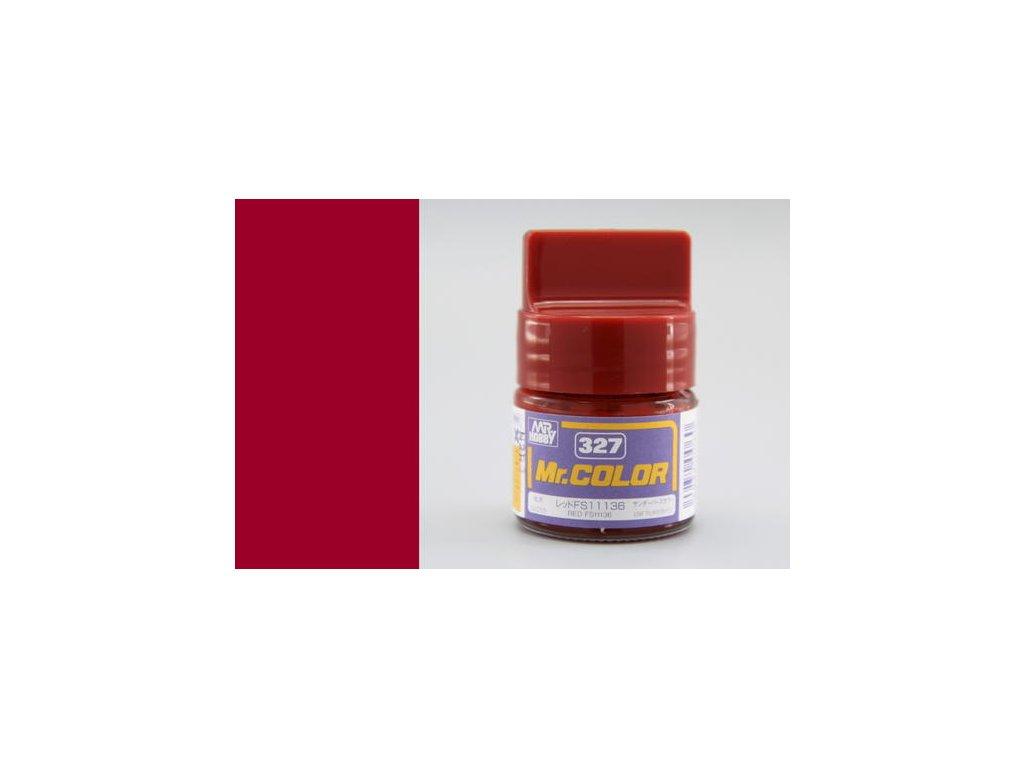 GNZC327 FS11136 Red Čevená
