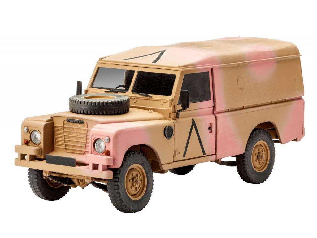 "Plastic ModelKit military 03246 - British 4x4 Off-Road Vehicle""109 (Series III)"" (1:35)"