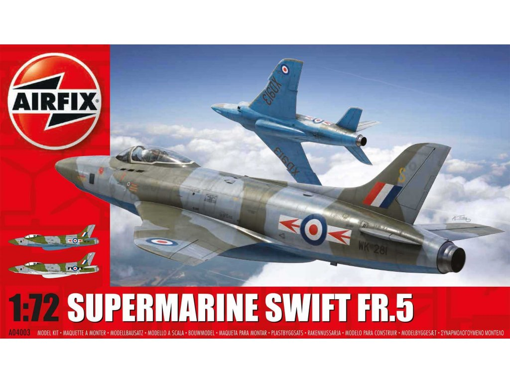 Classic Kit letadlo A04003 - Supermarine Swift F.R. Mk5 (1:72)