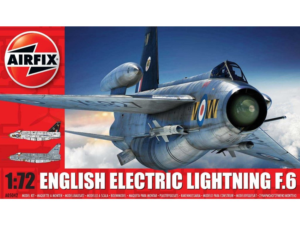 Classic Kit letadlo A05042 - English Electric Lightning F6 (1:72)