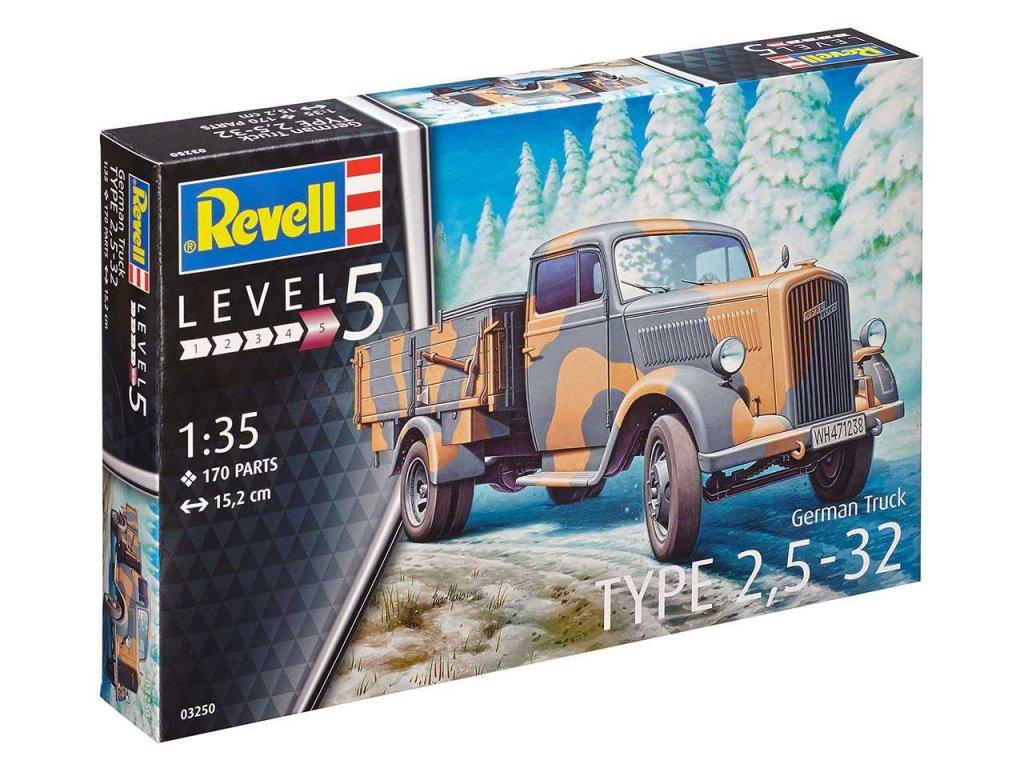 Plastic ModelKit military 03250 - German Truck Typ 2,5 - 32 (1:35)
