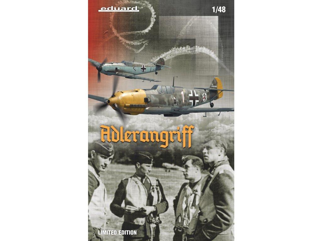 1/48 ADLERANGRIFF - Bf 109E v bitvě o Británii - Bf 109 E-1, 3, 4 a 4/B (Limited Edition - Dual Combo) (11144)