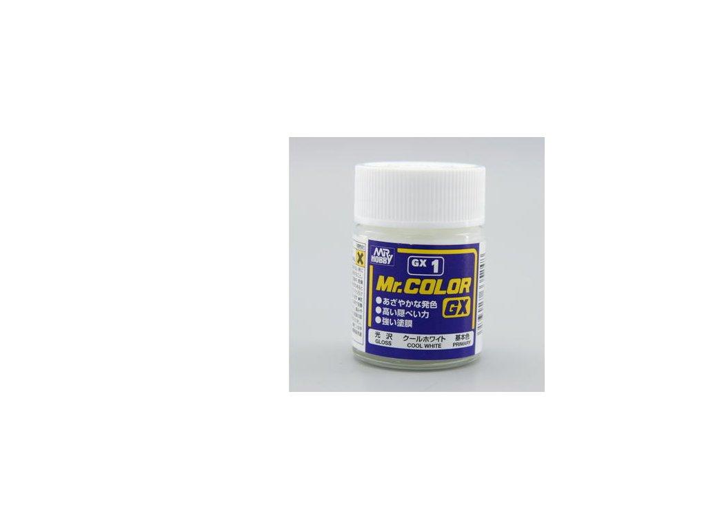 GNZGX01 White bílá (18ml)