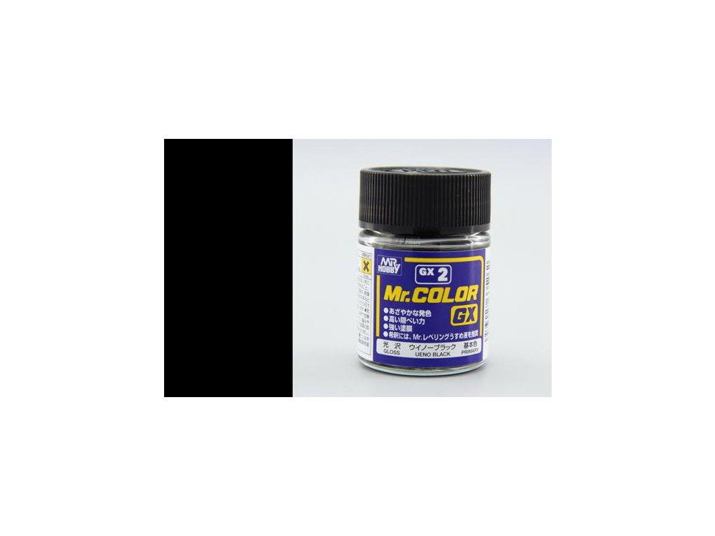 GNZGX02 Black černá (18ml)