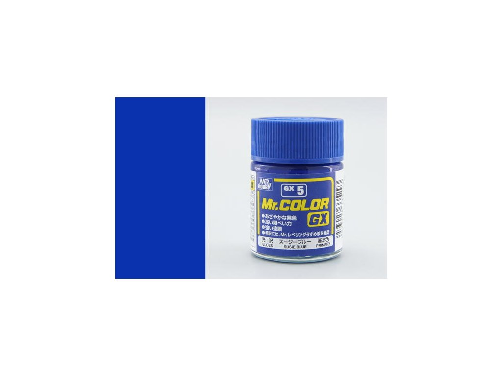 GNZGX05 Blue modrá (18ml)