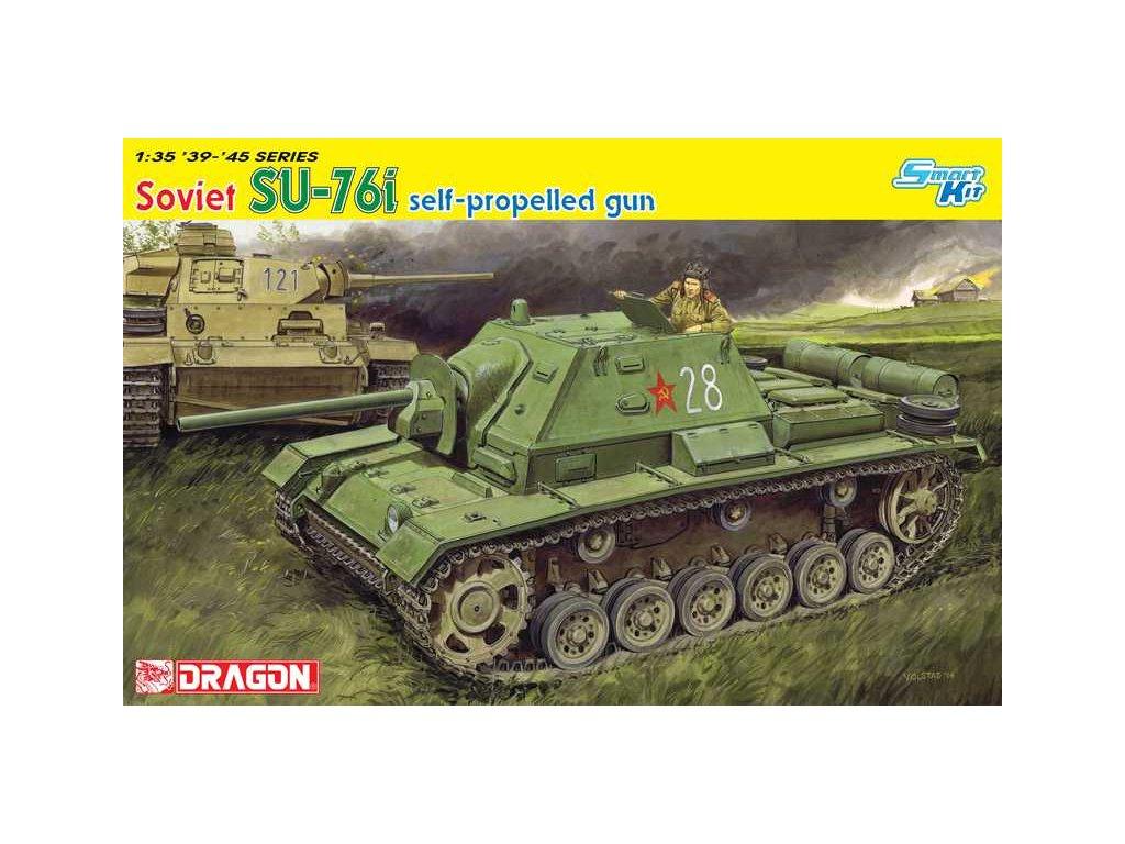 Model Kit tank 6838 - 1/35 Su-76i - Smart Kit (1:35)